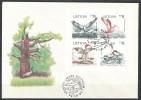 Litauen  - FDC  -  Mi.Nr.   501 - 504         Naturschutz An Der Ostseeküste - Litauen