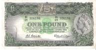 Australia - Pick 34 - 1 Pound 1961 - 1965 - VF - Pre-decimal Government Issues 1913-1965