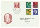 Suisse /Schweiz/Svizzera/Switzerland/Pro-Juventute// FDC 1959 Série Sur Lettre 1er Jour - Pro Juventute