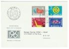 Suisse /Schweiz/Svizzera/Switzerland/1961// Lettre 1er Jour - Suisse