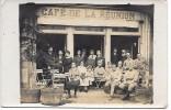 Devanture Du CAFE DE LA REUNION - CARTE PHOTO - Cafés