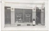 DEVANTURE DE MAGASIN - Maison D'Alimentation - CARTE PHOTO - Geschäfte