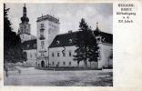 HEILIGENKREUZ Stifteingang A.d.XII Jahrh., Karte Gel.1927 - Heiligenkreuz