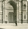 Italie Florence Cathedrale Ancienne Photo Stereoscope NPG 1900 - Stereoscopic