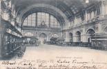 Germany 1899 Gruss Aus Frankfurt, Hauptbanhof Vestibul - Postcards