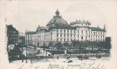 Germany 1900 Munchen, Palace Of Justice, Postcard - Postcards