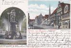Germany 1906 Gruss Aus S Hameln, Osterstrasse, Postcard - Postcards