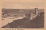 Cpa Ak Pk - Schloss Stolzenfels Am Rhein Mit Blick Auf  Niederlahnstein - Lahnstein