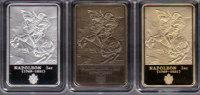 £££ Lot De 3 Médailles - NAPOLEON 1ER - La Campagne D´Egypte - - Royal / Of Nobility