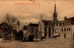 27-BRETEUIL..PLACE DE L'HOTEL DE VILLE...CPA - Breteuil