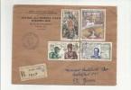 Mio Archivio Rosa  Busta Republique Francaise 1970 - Altre Collezioni