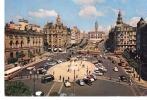 Portugal-Porto-1962-Praça Da Liberdade-Avenida Dos Aliados-VW Kever-vieilles Voitures*Tram-Tramway-autocar-autobus - Porto