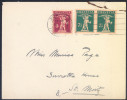 Switzerland Letter Cover Travelled 1929 Bb150921 - Lettres & Documents