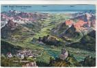 AK Bad Ragaz Rheintal - Bodensee, Vogelperspektive, 1920 - SG St. Gallen