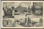 Oldenburg, Landesmuseum, Gertruden-Kapelle, Schlosswache, Trolleybus, Hebebrücke, Postkarte, Niedersachsen - Oldenburg