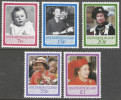 Ascension. 1986 60th Birthday Of QEII. MNH Complete Set. SG 397-401 - Ascension