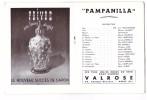 Programme Operette Pampanilla Avec Jean Bretonniere Maurice Baquet Duvaleix Illustration Mick Bernard 1954 - Programmes