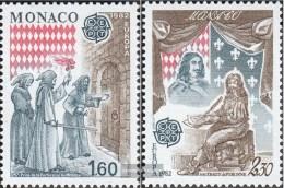 Monaco 1526-1527 (completa Edizione) MNH 1982 Storico.Eventi - Unused Stamps