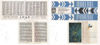 2 Calendriers - Crédit Agrcole 1969 - Gan 2000 (80625) - Calendarios