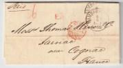 """Hamburg, 1862, Ausland-Brief, Seltener """" P.D """"  , #3553 - Hamburg"""