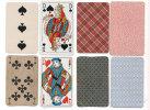 4 Cartes A Jouer Différentes - 7 De Tréfle - Valet De Coeur - 3 De Pique - Dame De Pique (80639) - Cartes à Jouer Classiques