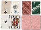 4 Cartes A Jouer Différentes - Roi De Pique - As De Pique - As De Tréfle - 2 De Tréfle  (80640) - Kartenspiele (traditionell)