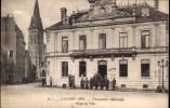 WWI MILITARY INTEREST: OCCUPATION ALLEMANDE 1915, HOTEL DE VILLE, CAUDREY, NORD, FRANCE ~ ANIMATED - Guerre 1914-18