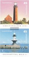 BRD (BR.Deutschland) 2478b-2479b (completa Edizione) Selbstklebende Problemaabe Usato 2005 Fari - Usati