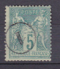 SAGE N° 75 CACHET JOUR DE L AN - 1876-1898 Sage (Tipo II)