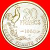 ★COCK: FRANCE★ 20 FRANCS 1950B! G. GUIRAUD! LOW START★ NO RESERVE! - France