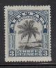 Aitutaki MH Scott #31 SG #27 3p Palm Tree - Aitutaki