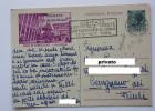 1953 FIERA DI PADOVA RINVIATA 18-28 GIUGNO Sovrastampa AMG-FTT Timbro VISITATE LA VI FIERA DI TRIESTE - Padova (Padua)