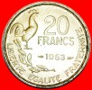 ★COCK: FRANCE★ 20 FRANCS 1953! G. GUIRAUD! LOW START ★ NO RESERVE! - France