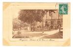 CPA (83) BARGEMON - Avenue De La Gare Et Mairie (avec Petite Animation) - Bargemon