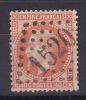 NAPOLEON N° 31 OBL COTE 25€ - 1863-1870 Napoléon III Con Laureles