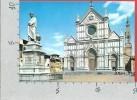 CARTOLINA NV ITALIA - FIRENZE - Basilica Di S. Croce - 10 X 15 - Firenze