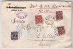 DR, 1924, Wertbrief Ausland!  , #3545 - Deutschland