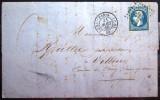 PARIS. Bureau De Quartier CS1 Romain + Cachet 1509  --  LAC  --  1860  --  Indice 11 - Postmark Collection (Covers)