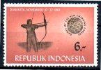INDONESIE    N° 354     * *  Tir A L Arc - Tiro Con L'Arco