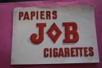 BUVARD PUBLICITAIRE -> PAPIER A CIGARETTE JOB  ->VINTAGE RARE - Tabac & Cigarettes