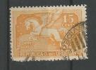Pégase 15c Jaune Orange - Uruguay