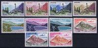 Andorre: Mi Nr 264 -265 MNH/** 1961 - Poste Aérienne