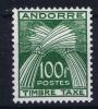 Andorre: Mi Nr Taxe 41  MH/*