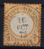 Deutsches Reich: Mi.nr. 3 Used Kleiner Brustschild  Signed/ Signé - Deutschland