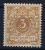 Deutsches Reich: Mi.nr  45 D  MH/*/Falz