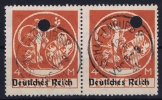 Deutsches Reich: Mi.nr  135 I  Used   Mit Loch Entwertungen - Gebraucht