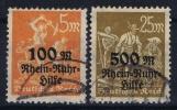 Deutsches Reich: Mi.nr  258-259  Used