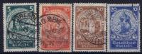 Deutsches Reich: Mi.nr  351 - 354 Used   1924