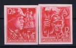 Deutsches Reich: Mi.nr  909 U - 910 U   MNH/** Postfrisch 1945