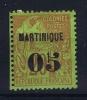 Martinique Yv Nr 4 MH/* Avec Charniere  1887 - Nuovi